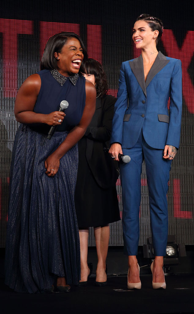 Uzo Aduba, Ruby Rose