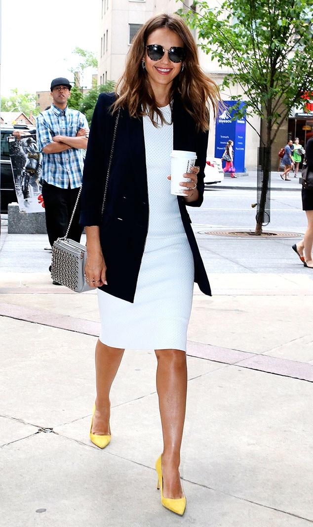 ESC: Jessica Alba, Coffee and Clothes