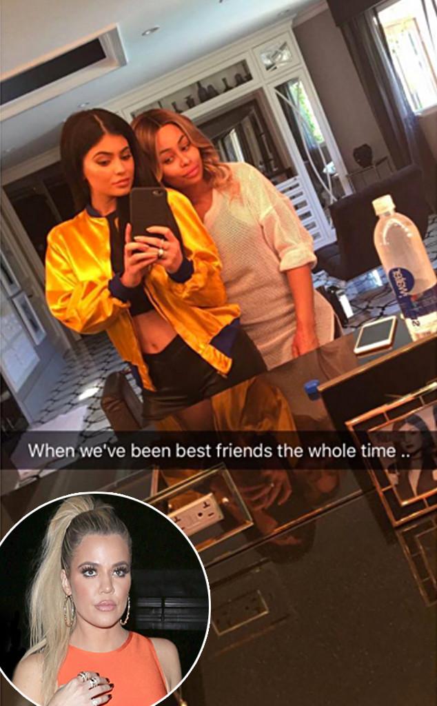 Khloe Kardashian, Kylie Jenner, Blac Chyna