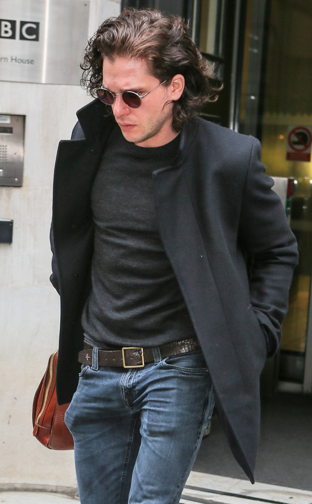 Kit Harington, No Beard, 2016
