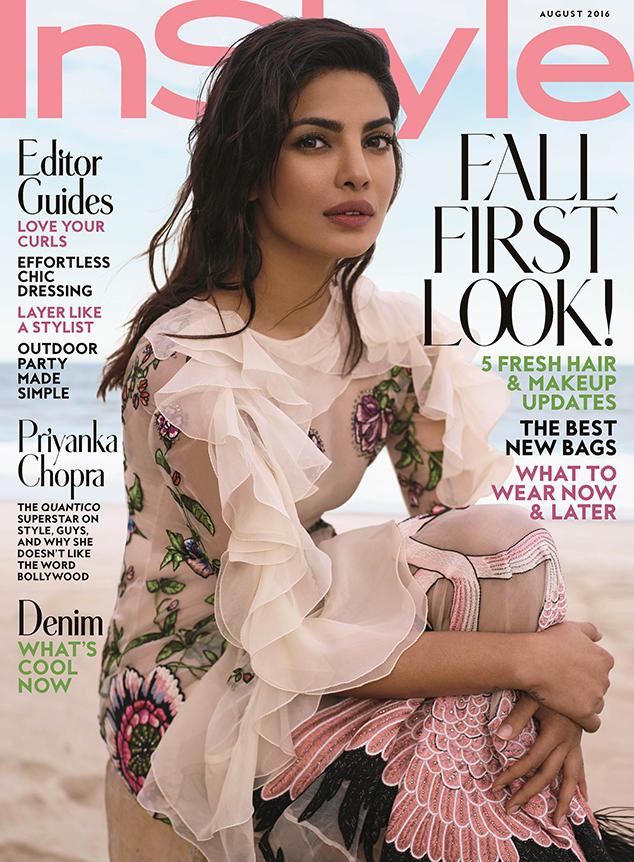 Priyanka Chopra, InStyle Magazine, August 2016 Cover