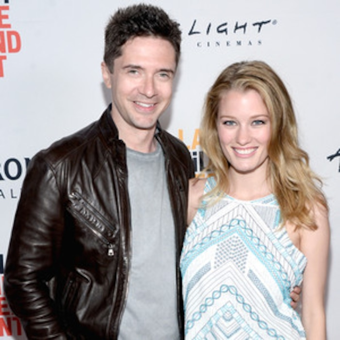 Topher Grace and Wife Ashley Hinshaw Expecting Their First Child | E! News