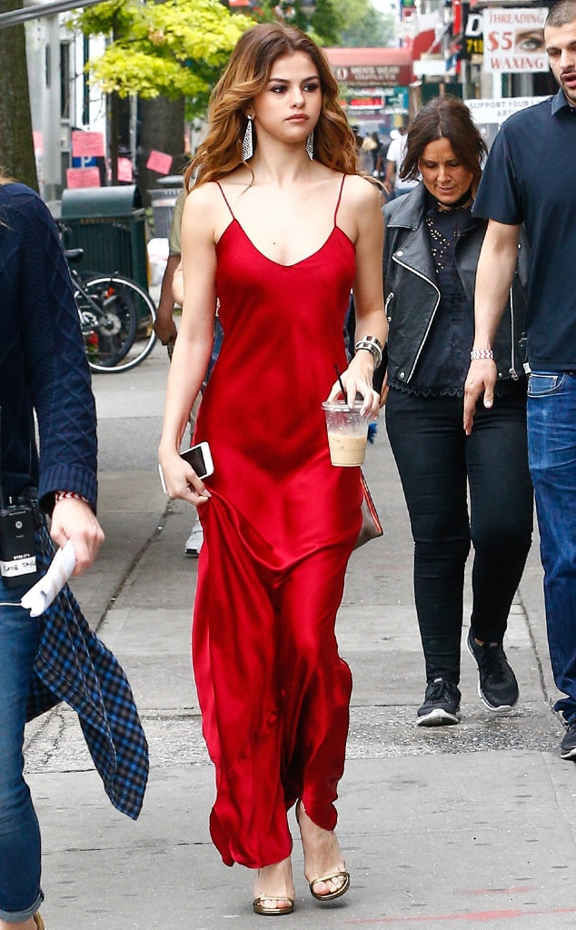 Red Hot Again from Selena Gomez\'s Best Looks | E! News