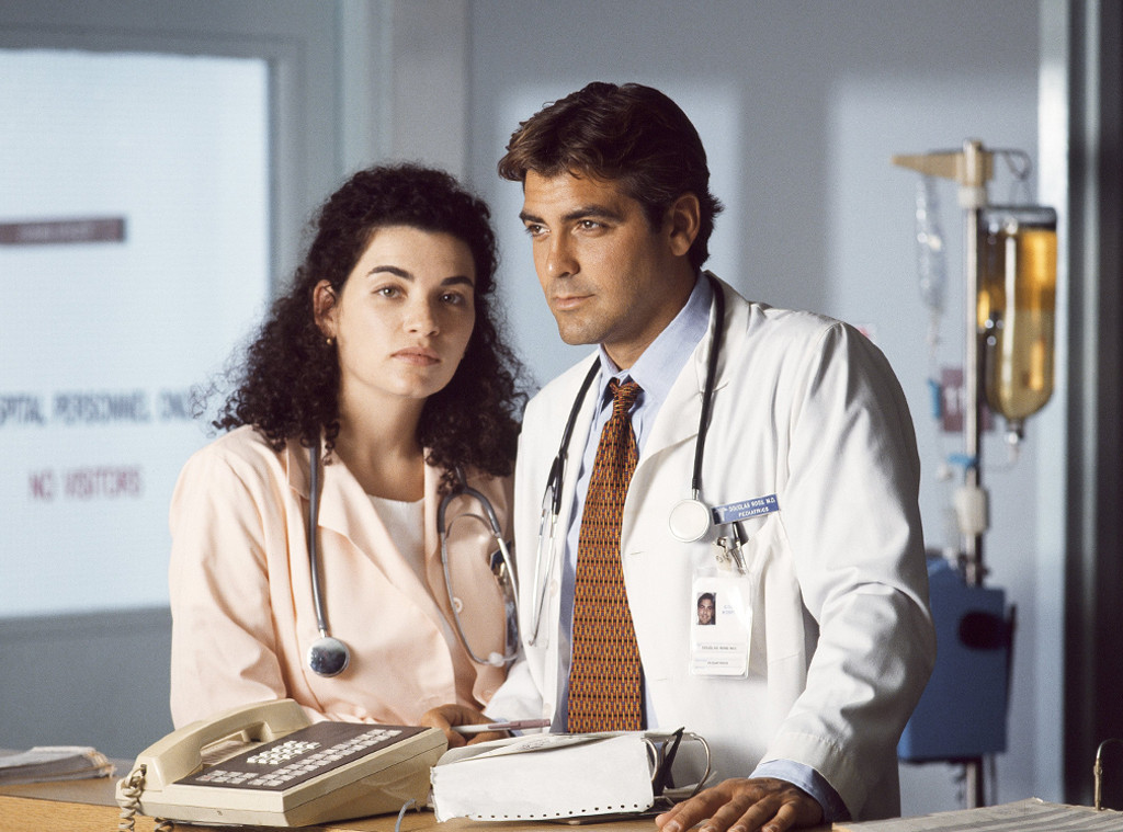 E.R., George Clooney, Julianna Margulies