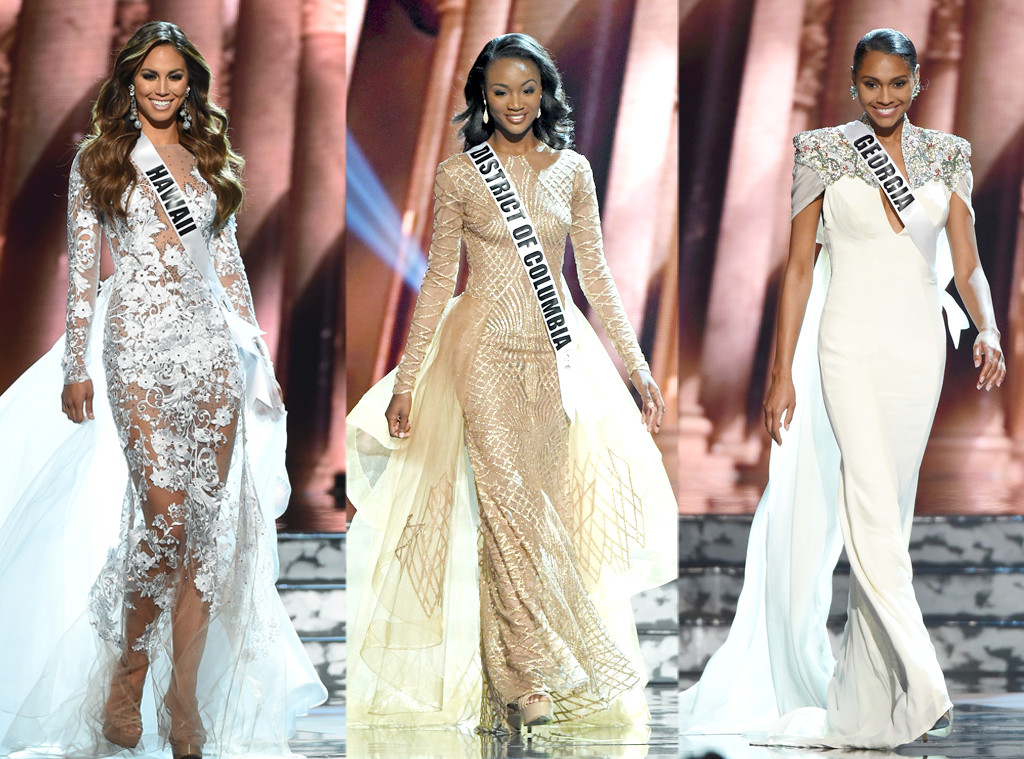 Chelsea Hardin, Deshauna Barber, Emanii Davis, MISS USA 2016, Final three