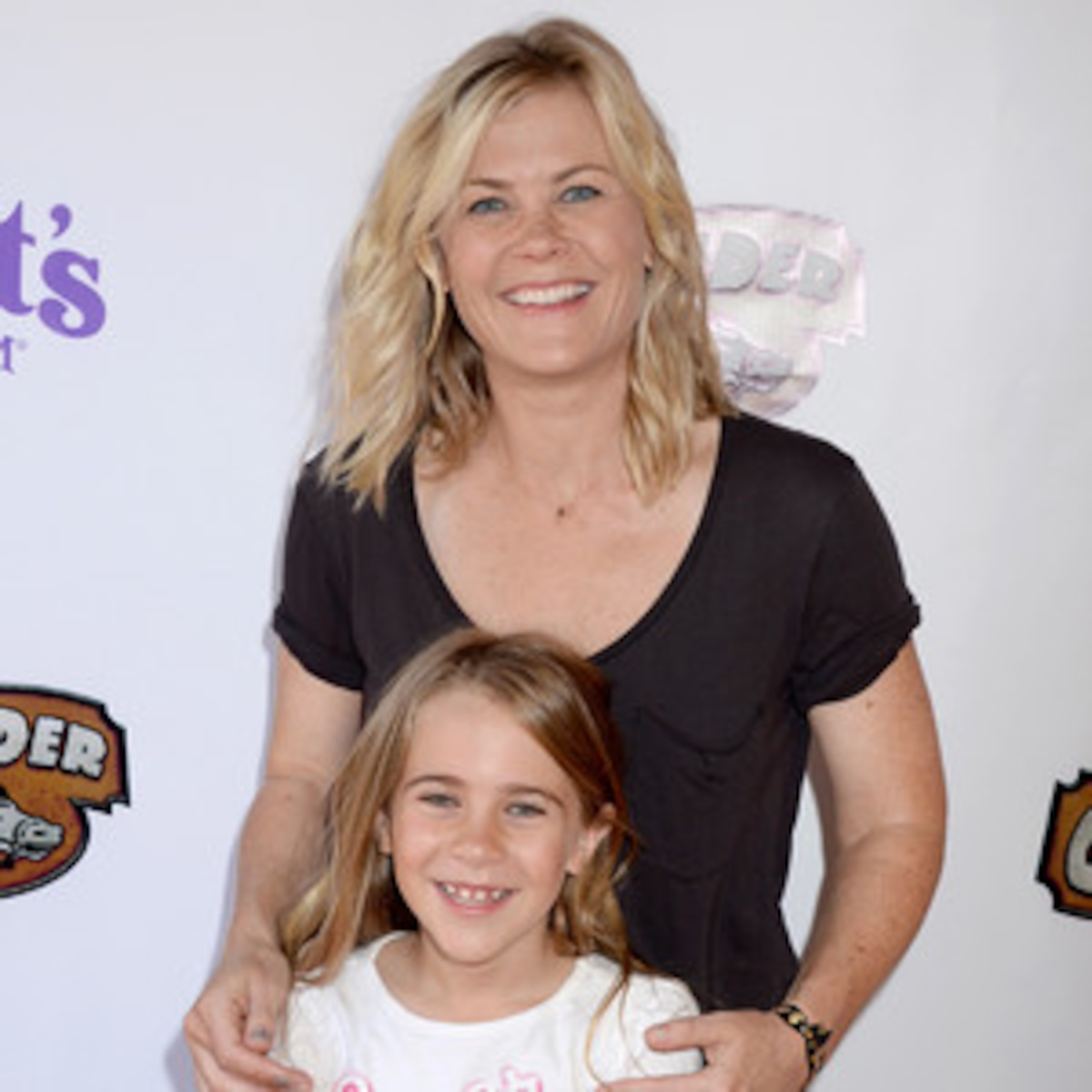 Alison Sweeney Family Pictures alison sweeney and her look-alike daughter enjoy family day