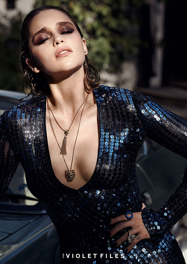 Game Of Thrones Emilia Clarke Poses Topless In Sexy Shoot  E News Australia-7132