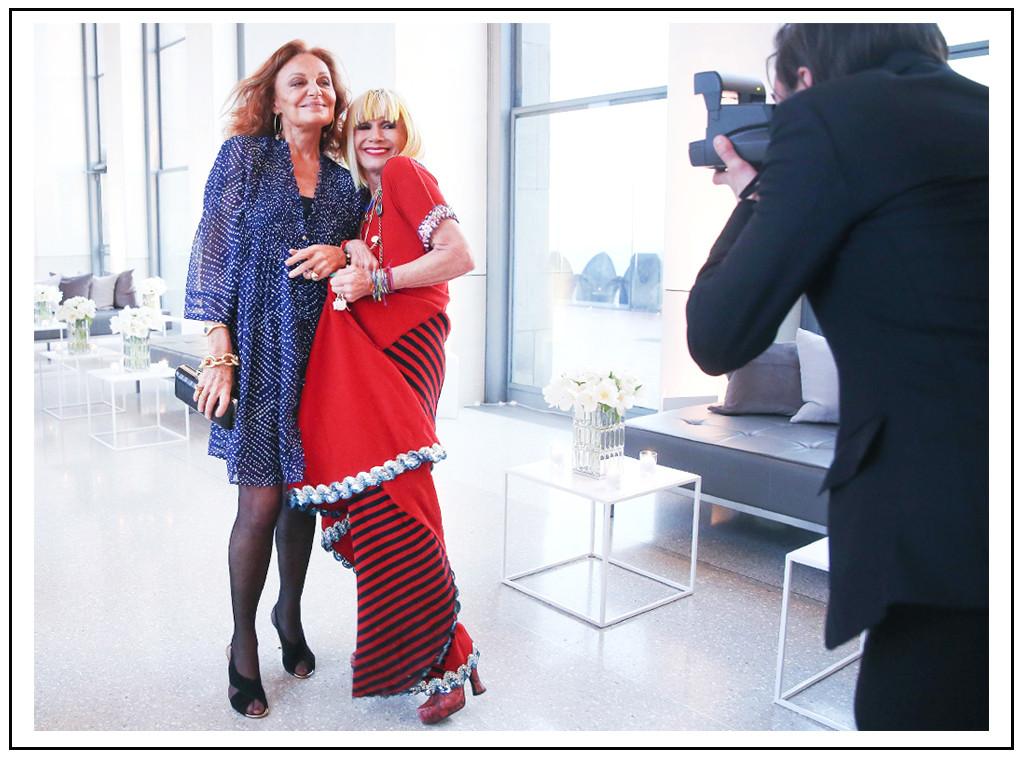 ESC: Diane von Furstenberg, Betsey Johnson, CFDA