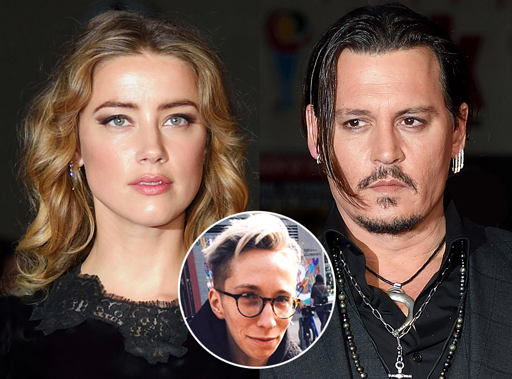 Amber Heard, IO Tillett Wright, Johnny Depp