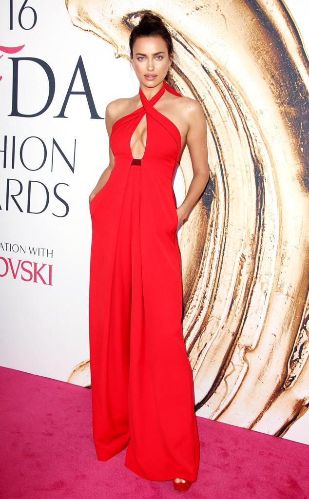 Irina Shayk, 2016 CFDA Fashion Awards