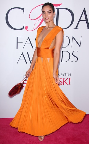 Shanina Shaik, 2016 CFDA Fashion Awards