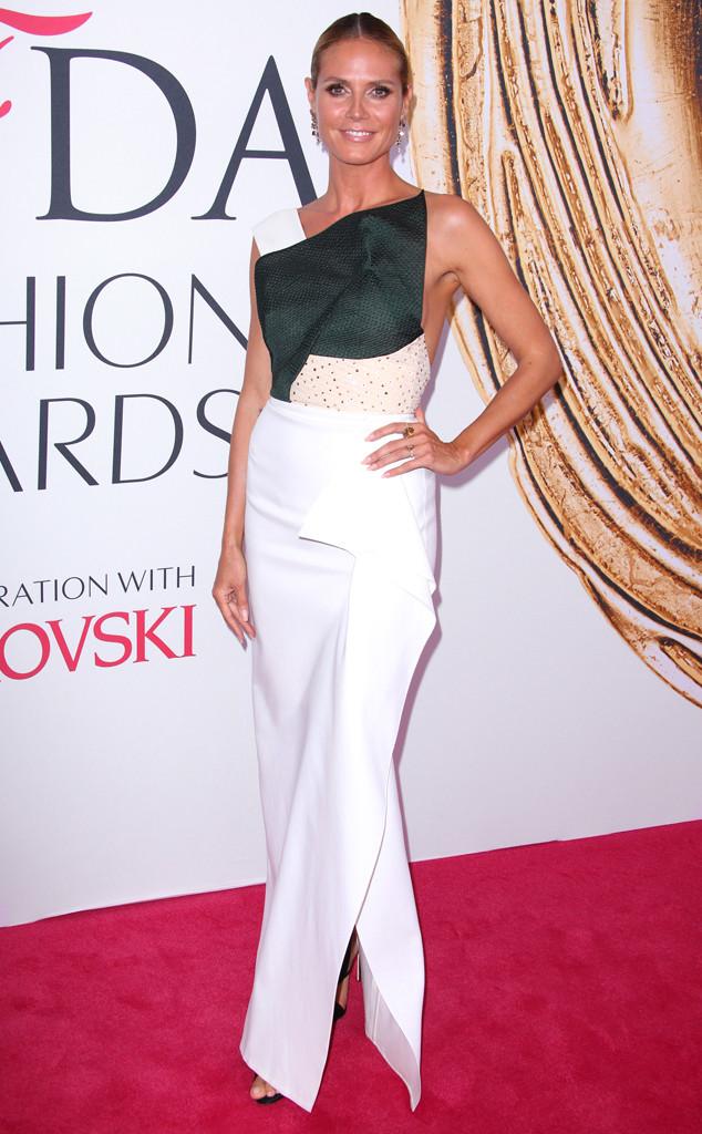 Heidi Klum, 2016 CFDA Fashion Awards