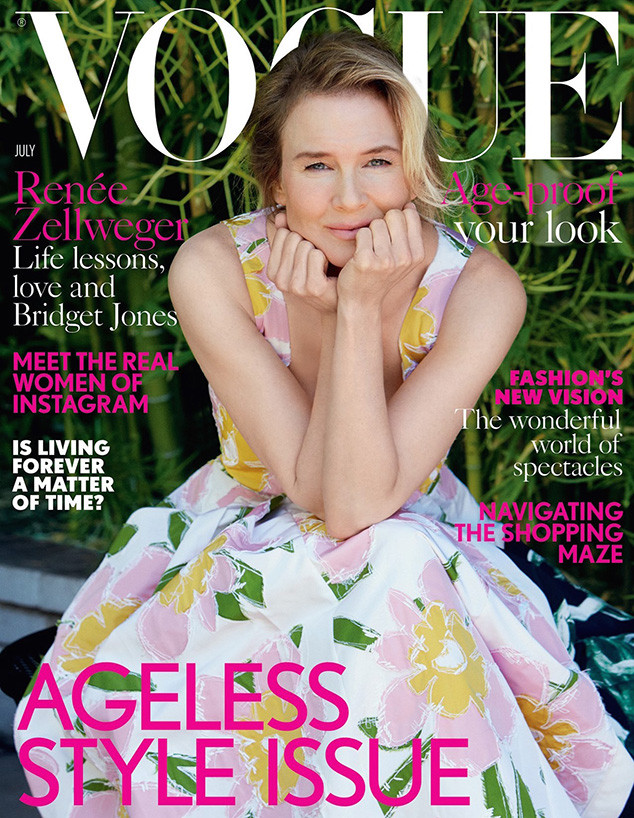 Renee Zellweger, British Vogue
