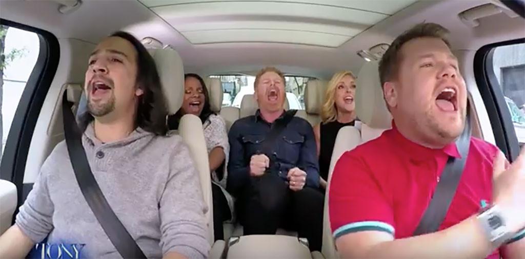 James Corden, Tony Award, Broadway, Carpool Karaoke