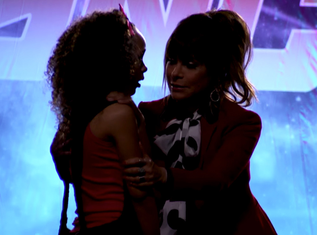 Paula Abdul, So You Think You Can Dance Vomit