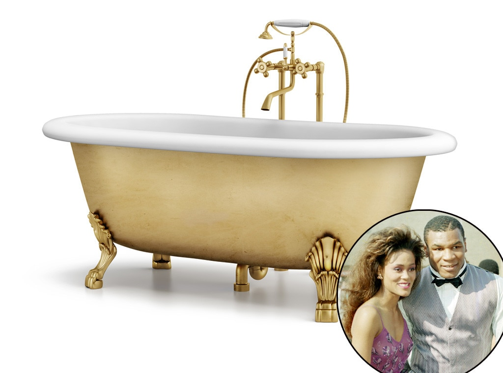 Mike Tyson, Robin Givens, Gold Bathtub, Lavish Gifts
