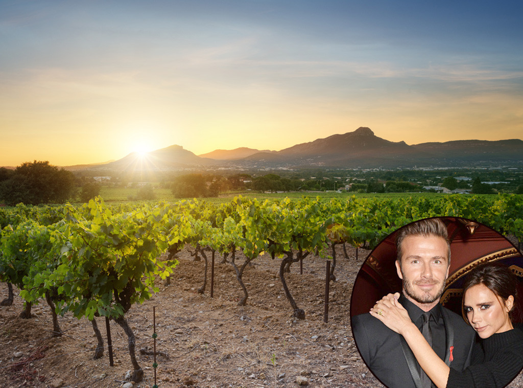 David Beckham, Victoria Beckham, Vineyard, Lavish Gifts