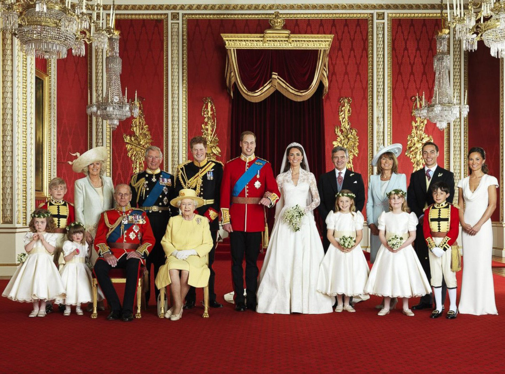 Prince William, Duke of Cambridge, Catherine, Duchess of Cambridge, Kate Middleton, Queen Elizabeth, Prince Philip, Royal Wedding