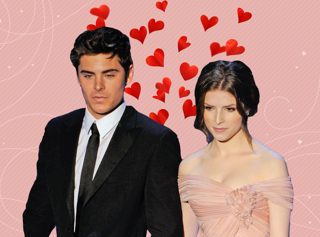 Shipped Couples, Zac Efron, Anna Kendrick
