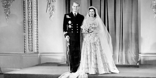 1947: The Royal Wedding from Queen Elizabeth II & Prince Philip\'s ...