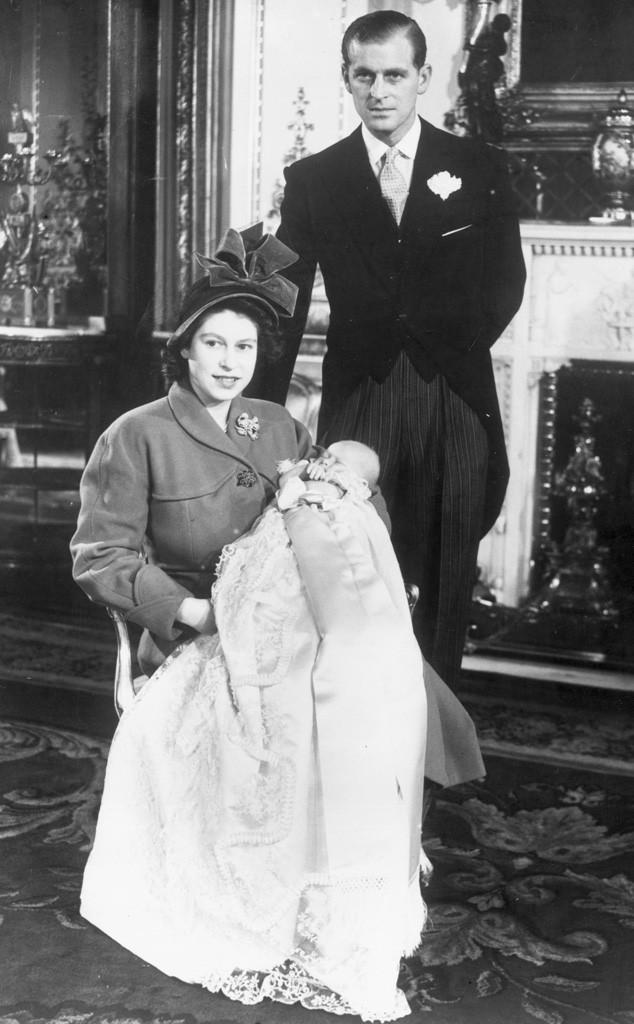 Queen Elizabeth, Prince Philip, Prince Charles