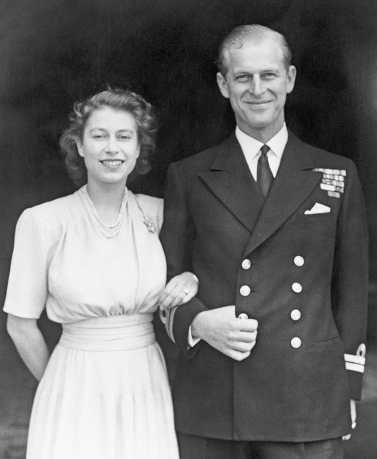 Queen Elizabeth, Prince Philip, 1947, Widget
