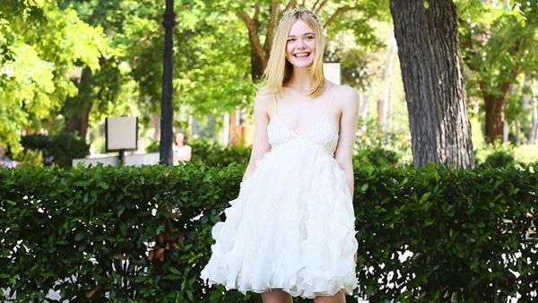 ESC: Elle Fanning, Summer Dresses