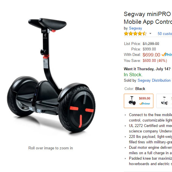 Amazon Prime Day, Scooter