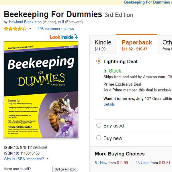 Amazon Prime Day, Book