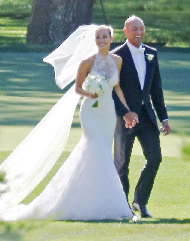 ESC: Derek Jeter, Hannah Davis, Wedding Dress