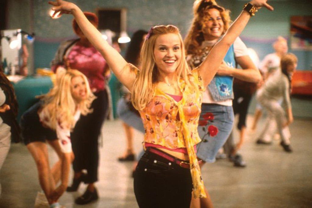 Legally Blonde, Reese Witherspoon, Bend and Snap