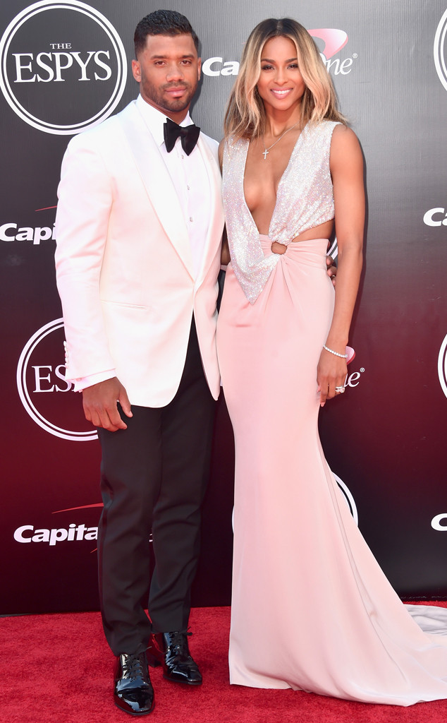 Russell Wilson, Ciara, 2016 ESPY Awards, Couples