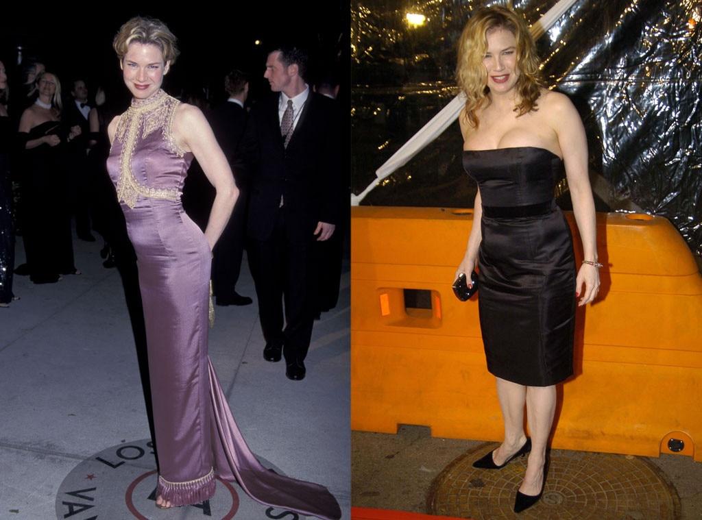 Renee Zellweger, Bridget Jones, Weight Loss or Weight Gain for Roles