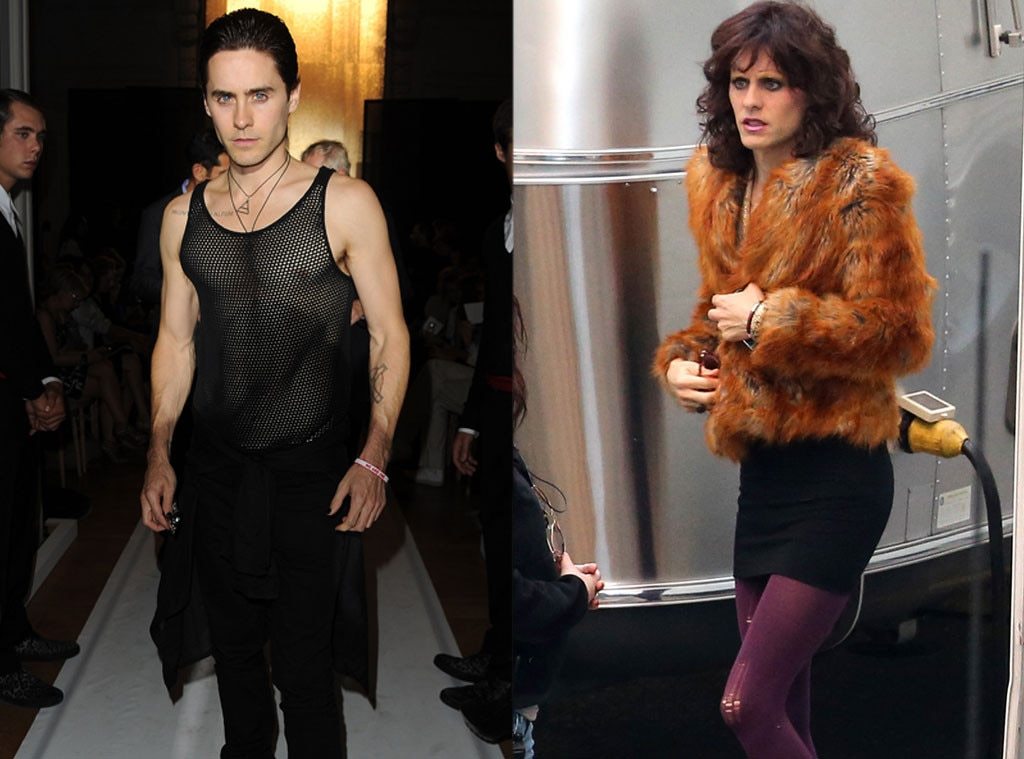 Jared Leto, Dallas Buyers Club, Weight Loss or Weight Gain for Roles