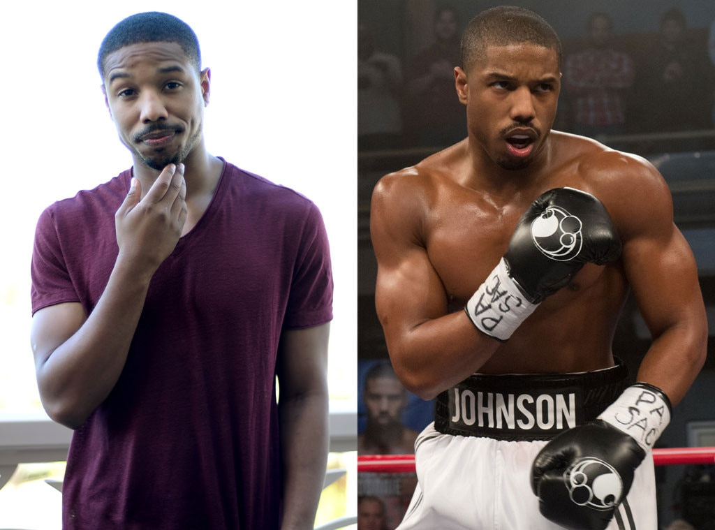 Michael B. Jordan, Creed, Weight Loss or Weight Gain for Roles