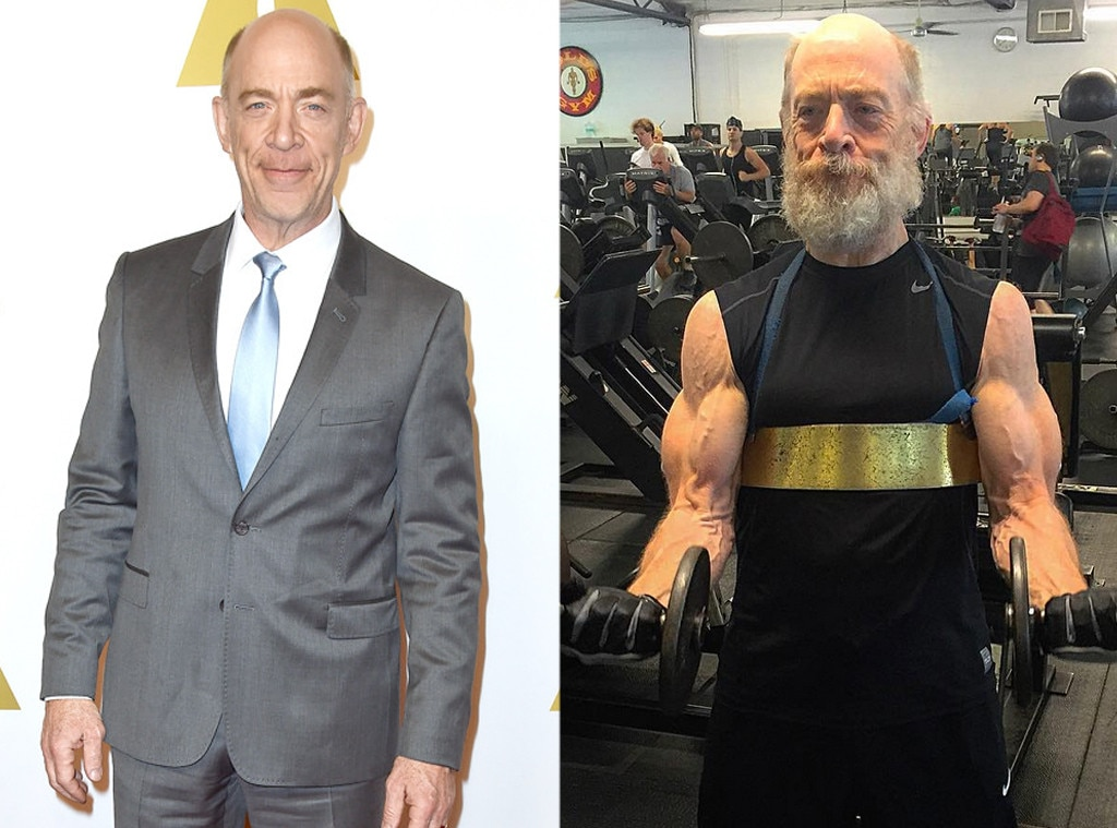 J.K. Simmons, Weight Loss or Weight Gain for Roles