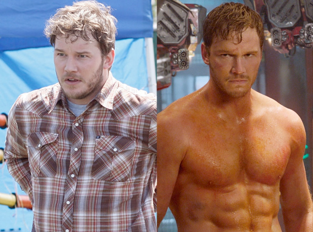 Chris Pratt, Parks and Rec, Guardians, Weight Loss or Weight Gain for Roles