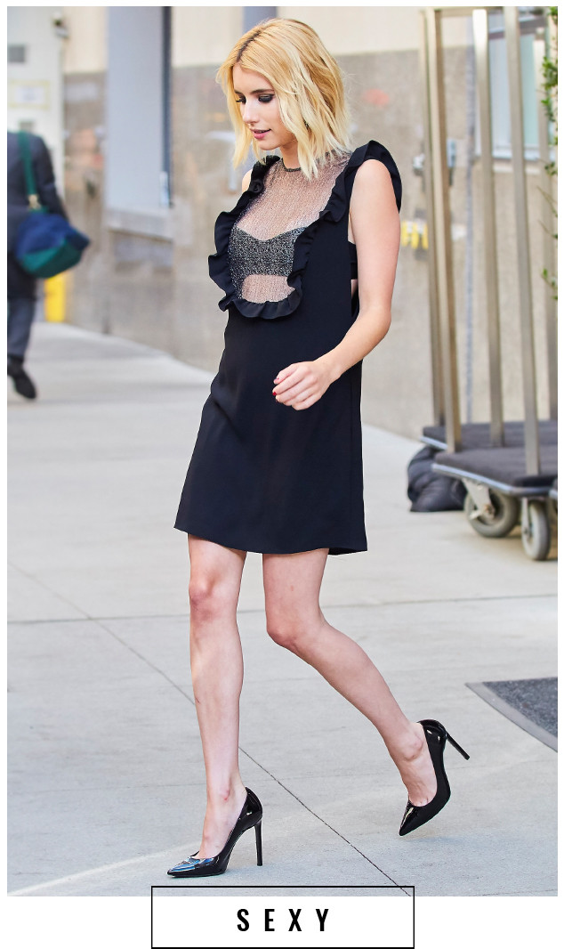 Emma Roberts Is Queen Of The Mini Dress E Online