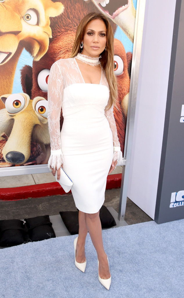 Jennifer Lopez, The Ice Age Premiere
