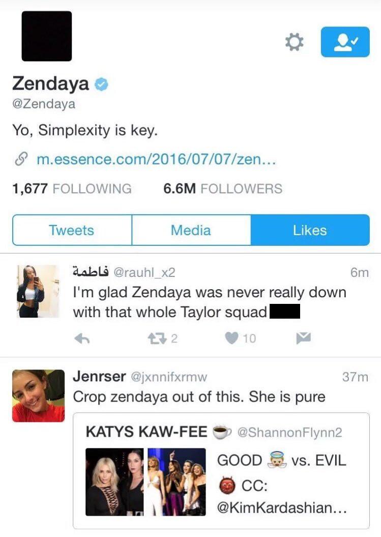 Zendaya, Instagram