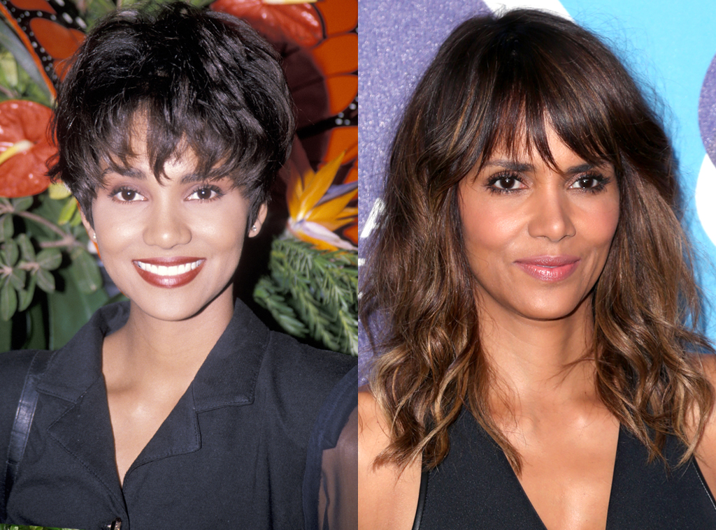 Halle Berry, Before and After, Nose Job Denial