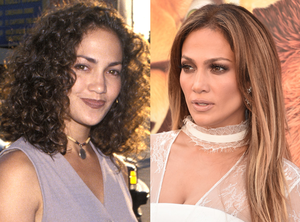 Jennifer Lopez, Before and After, Nose Job Denial