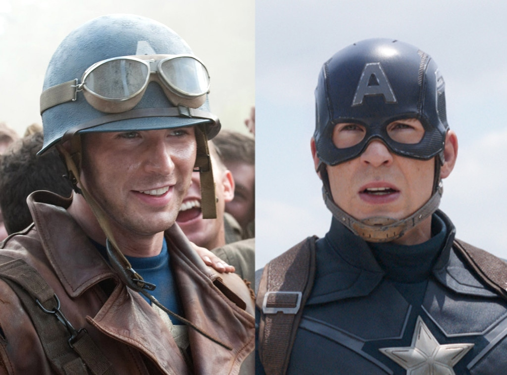 A 5 Anos De Capitan America El Primer Vengador Repasemos El Asombroso Cambio De Chris Evans E Online Latino Mx