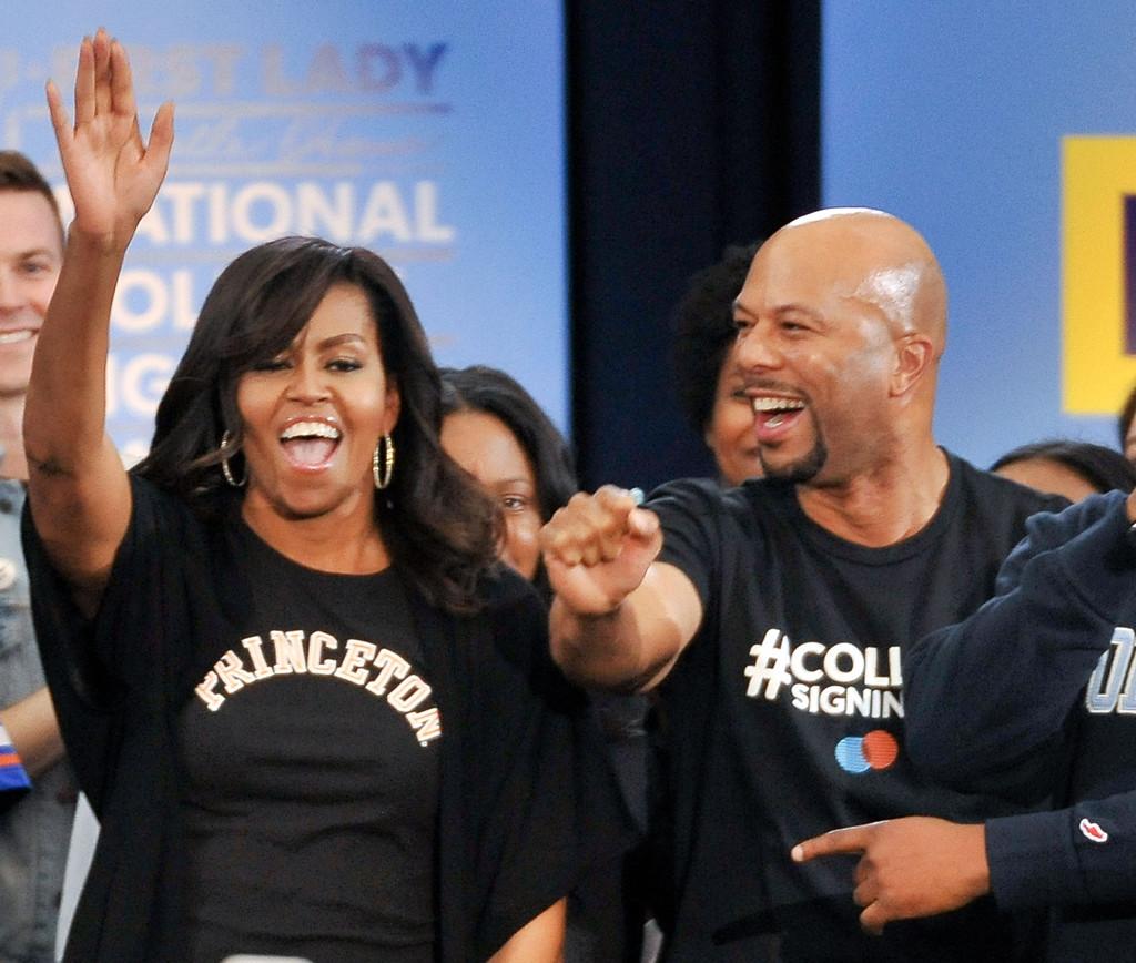 Michelle Obama, Common