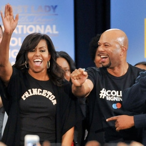 Michelle Obama, Common