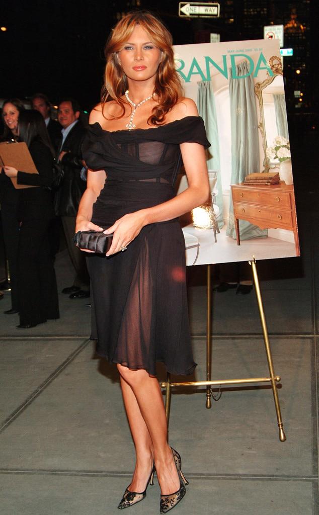 Shocking Sheer Skirt From Melania Trump S Best Looks E News
