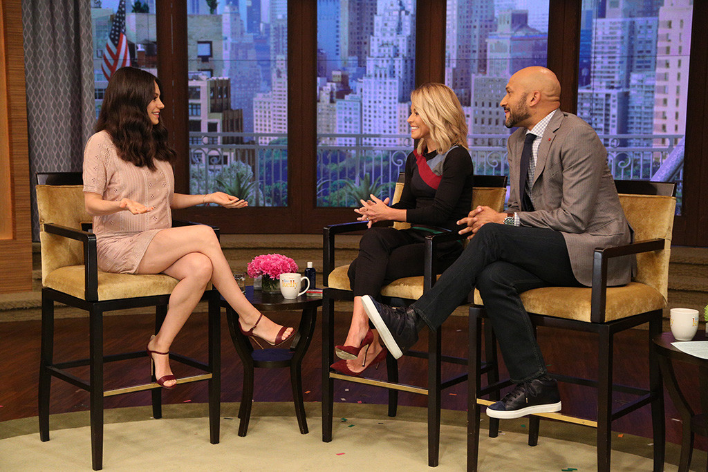 Mila Kunis, Live With Kelly