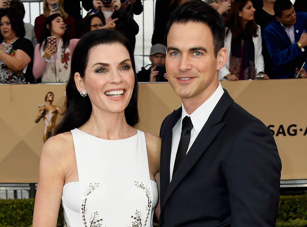 Image result for Julianna Margulies, 50, and Keith Lieberthal, 44 pic
