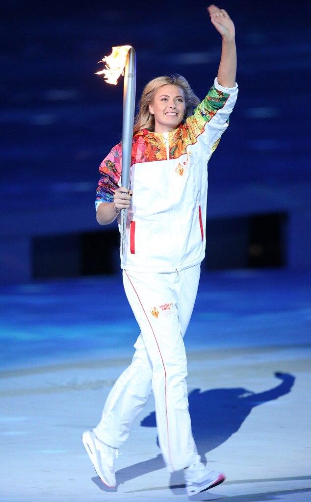 Maria Sharapova, Olympic Torch