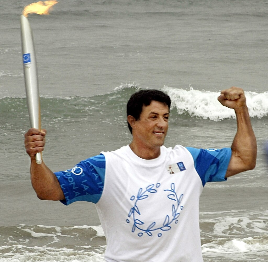 Olympic Torchbearers, Sylvester Stallone